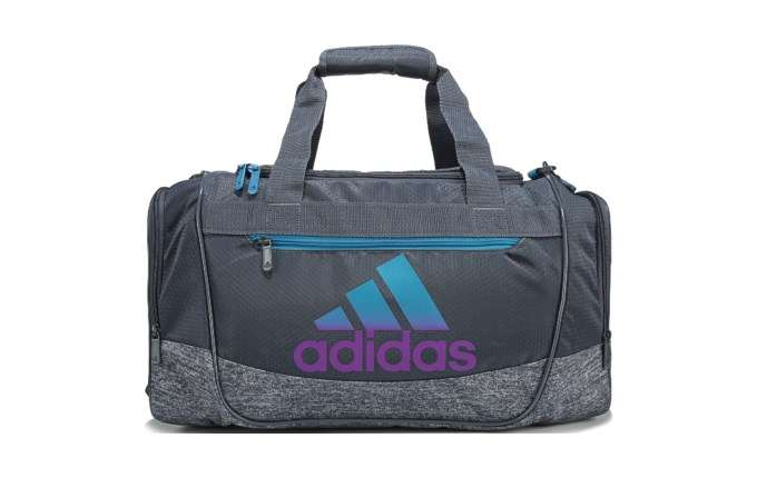 Defender III Small Duffel Bag onix/cyan/purple